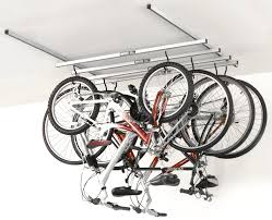 back to diy ceiling bike rack for garage