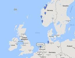 costa cruises norwegian fjords cruise from amsterdam 9 jun 2017