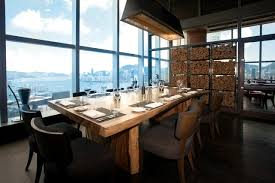Restaurant Kitchen Table Hong Kong Bars Restaurants With Amazing Views The Hk Hub
