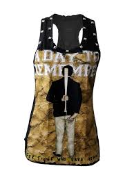 a day to remember metal punk rock diy racerback tank top shirt