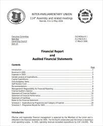 It Audit Report Template Magnificent 48 Financial Audit Report Templates PDF DOC Free Premium