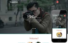 Free Photography Website Templates Classy Photographer W28layouts