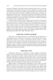 principal elements of an occupational health and safety program  page 108