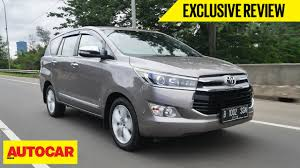 Toyota Innova | Exclusive First Drive | Autocar India - YouTube