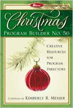 Christmas Program Sample Lillenas Music Christmas Program Builder No 56 Creative