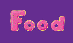 the word food. Simple Food The Word Food Made Out Of Donuts Throughout Word Food Pinterest