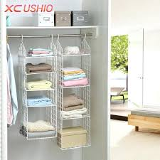 fancy closet racks folding wardrobe clothes underwear storage rack hooks home closet plastic storage shelves hanging