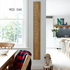 Personalised Kids Rule Giant Ruler Height Chart