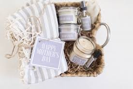 these handmade mother s day gift baskets are thoughtful and simple to make they feature diy lip balm candles body spray body er a lavender roller