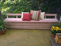 patio wooden patio bench storage plans quick woodworking projects furniture wooden patio bench