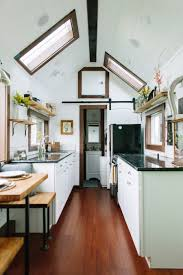 A Luxury Tiny House On Wheels In Portland Oregon Built By Tiny - Tiny house on wheels interior