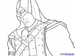 Assassins Creed Kleurplaat Assassins Creed Kleurplatenlcom