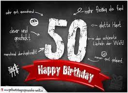 Geburtstagswünsche 50 Mann Witzig