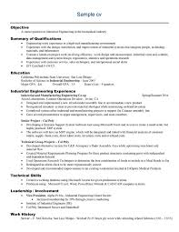 resume for engineering jobs