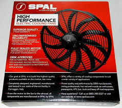 spal 12 in 1870 cfm high output electric cooling fan p n 33600
