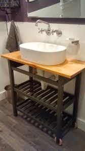 Half Bathroom Vanity 17 Best Ideas About Ikea Hack Bathroom On Pinterest Spice Rack