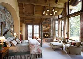Image Farmhouse Country Master Bedroom Endearing French Country Master Bedroom Ideas Rustic Master Retreat With Fireplace And Lot Of Windows French Country Master Bedroom Bedroom Design Country Master Bedroom Endearing French Country Master Bedroom Ideas