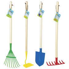 making big kids garden tool set