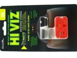 hiviz rg1022 front rear litewave fiber optic sight systems for ruger 10 22