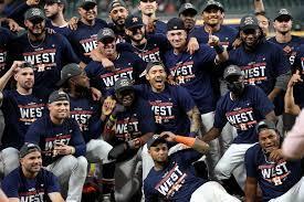 Correa, Astros clinch AL West, open ...