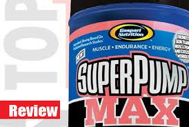 gaspari nutrition super pump max review gasparisupplements