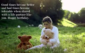 60 Best Happy Birthday Quotes For Wife 2019 Romantic Wishes