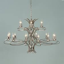 penn nickel 18 light chandelier interiors 1900