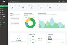 Free Bootstrap 4 Admin Dashboard Template 6 Pages 6 Colours