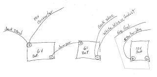 6 Volt Battery Wiring Diagram For Coach 6 Volt Circuit Diagram