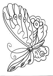 Disegno Farfalla Da Coloraredisegno Farfallina Da Colorare