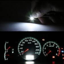 Us 1307 50 Stks T3 Auto Instrumenten Lampjes Led Dashboard Bollen Kenteken Lampen Auto Styling Auto Interieur Lichtbron In 50 Stks T3 Auto