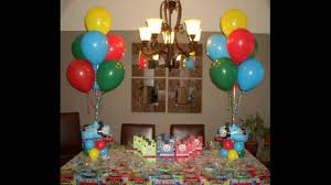Small Picture How To Decorate For Birthday Party YouTube