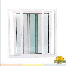 porta travessa 4 folhas vidro mini boreal e puxador de inox linha 25 premium branca. Porta De Vidro De Correr 2 Folhas