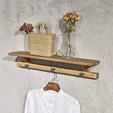 For Living Coat Rack Amazing Amazon COAT RACK Vintage Solid Wood Wall Mounted Hook Wall