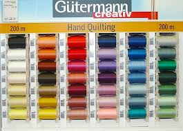 Thread for sewing and embroidery at London Haberdashery UK & Gütermann Hand Quilting Thread Adamdwight.com