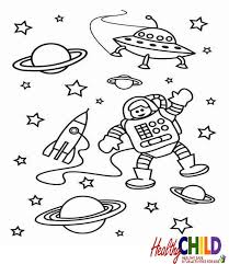 Small Picture Space and Solar System Coloring pages HealthyChildnet