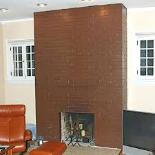 remove brick fireplace exposed brick fireplace how