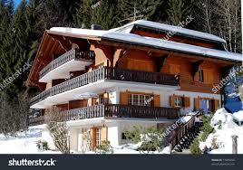 Chalet In Swiss Alps Stock Photo 17405350 Shutterstock .
