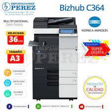 You must select a checkbox. Konica Minolta Bizhub C364 Venta De Copiadoras Importaciones Perez