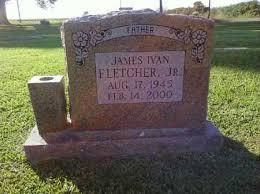 FLETCHER, JR, JAMES IVAN - Arkansas County, Arkansas | JAMES IVAN FLETCHER,  JR - Arkansas Gravestone Photos