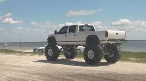 Biggest Lifted Up Chevy Pickup Ever - YouTube