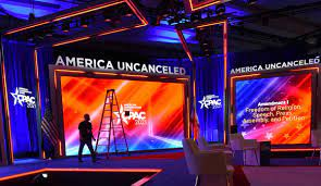 CPAC Stage Compared To Nazi Symbol On ...