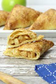 puff pastry apple turnovers the