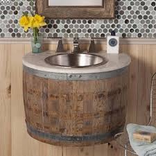 bathroom vanities lights. Rustic Bathroom Vanity Lights Brown Wooden Floating Base Cabinet Polished Chrome Faucet Top Handle Single Marble Tiles Floor Vanities