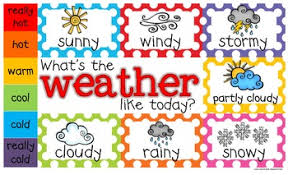 Weather Chart Freebie Weather Chart Toddler Prek Kindergarten First Grade