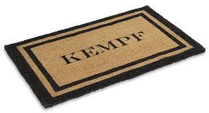 Amazon.com : Kempf Personalized Coco Doormats (22 X 36 ...