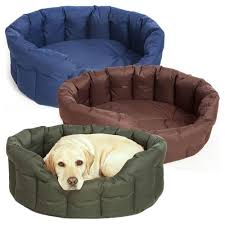 washable dog bed. Beautiful Washable Pu0026L Country Dog Waterproof Bed  Oval For Washable N