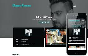 Personal Website Resume Template Elegant Resume A Personal Category