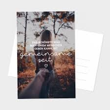 Postkarte Gemeinsame Zeit