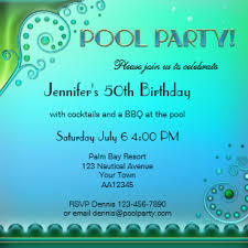 Bbq Pool Party Invitations | Zazzle